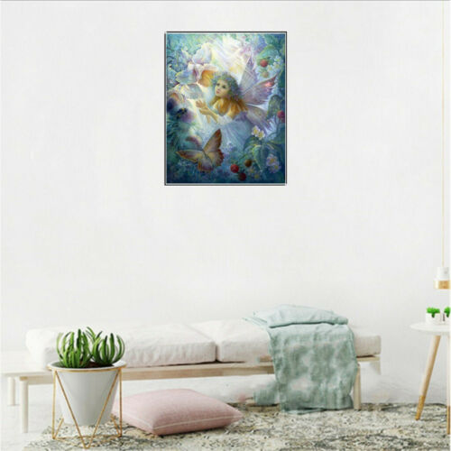 Multi 5D Diamond Painting Paint by Embroidery Cross Stitch Gift-12x16inch