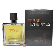 Terre D'hermes by Hermes for Men Pure Perfume 2.5oz 75ml spray