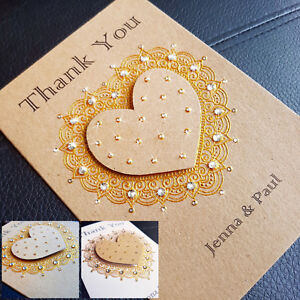 Handmade 3d Personalised Thank You Card Teacher Mum Dad Friend Uncle