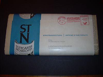 Haben Sie Einen Fragenden Verstand Stuttgarter Nachrichten Streifbandzeitung Original Ovp 05.12.1966 Untertürkheim