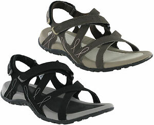 Hi-tec Waimea Falls Sandals Beach Double Strap Fastening Lightweight Flats Women