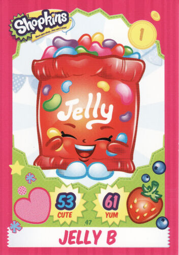 Shopkins Season 1-4 Cards Pick From List Base Cards 1-50