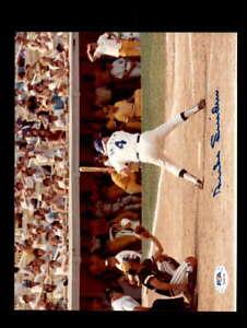 Duke Snider PSA DNA Coa Hand Signed 8x10 Photo Autograph