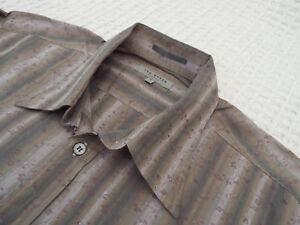 Ted-Baker-Camisa-Para-Hombres-Talla-3-42-034-pecho-RRP-110-fantasticamente-Floral