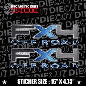 *NEW* 4X4 SPORT OFFROAD DECAL STICKER FITS RAPTOR FX4 F150 F250 F350 RANGER A-01