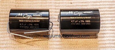 Mundorf MCap Supreme Aluminum Capacitor 0.47uf 0.47 .47 600VDC