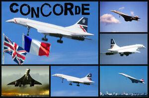 CONCORDE - SOUVENIR NOVELTY FRIDGE MAGNET - SIGHTS / BRAND NEW / GIFTS