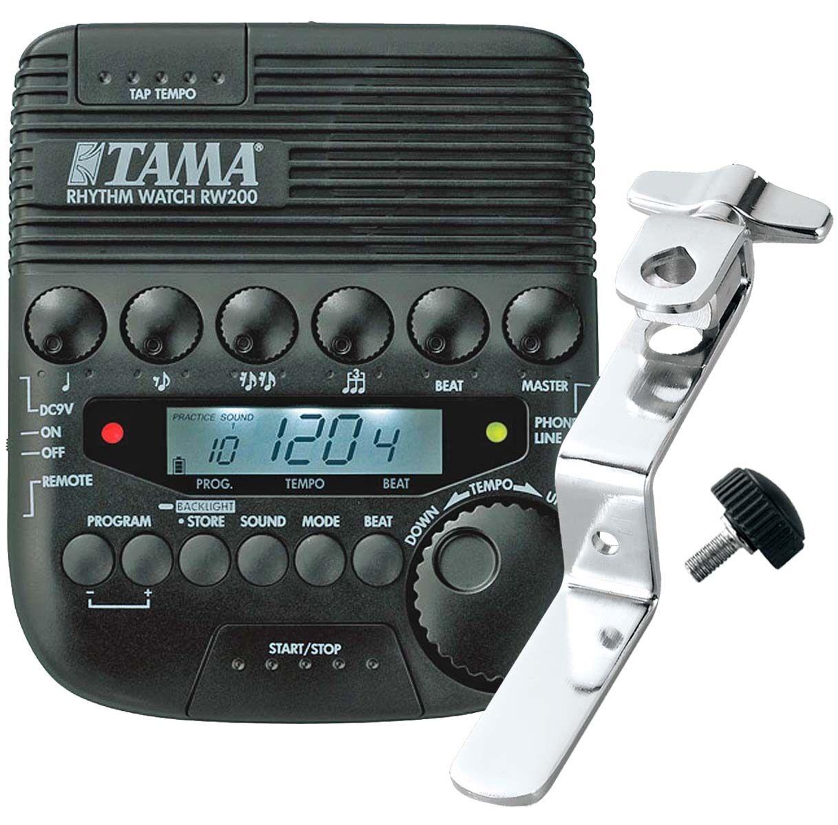 Tama Rhythm Watch rw200 Metronom rwh10 Rhythm Watch Holder