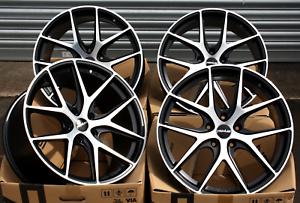 "18 "" Novus 01 Bp Cerchi in Lega per Audi A4 S4 Rs4 B5 B6 B7 B8"