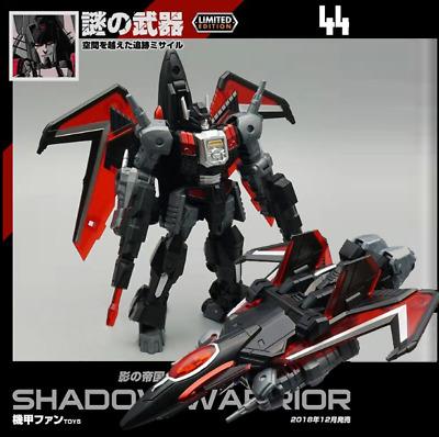 Transformers Mech Fans toys MFT MF44 Pioneer Series Shadow Warrior Figure Toy