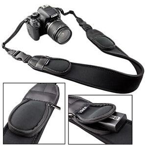 Courroie-Neoprene-Universel-pour-Appareil-Photo-DSLR-SLR-Nikon-Canon-Sony