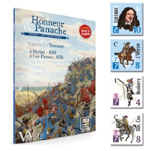 VOLUME 1  TURENNE - RETHEL 1650 - LES DUNES 1658 - AVEC HONNEUR & PANACHE
