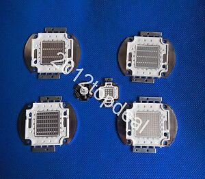 3w 10w 20w 30w 50w 100w UV Ultra Violet High power LED Chip 390-405nm F Aquarium