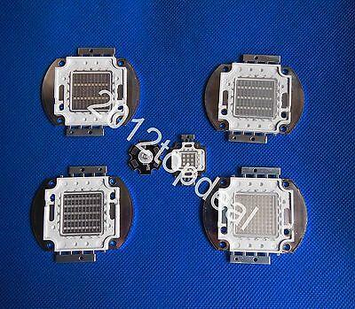 3w 10w 20w 30w 50w 100w UV Ultra Violet High power LED Chip 365-370nm F Aquarium