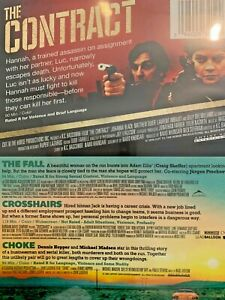 The-Contract-The-Fall-Choke-Crosshairs-DVD-DISC-amp-ARTWORK-ONLY-NO-CASE