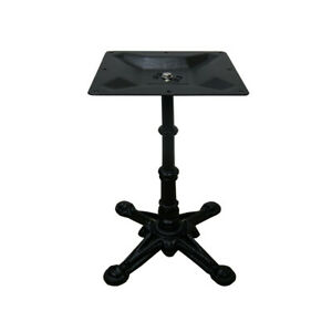 New Della Pedestal Cast Iron Table Base Dining Height Table Legs 700mm