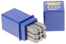 Schlagstempel Schlagzahlen 2.5mm DIN 1451 Einschlagzahlen Punze Punziereisen BGS