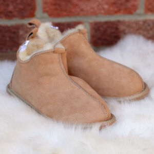 Hard Boots Sheepskin Sole Mens Slippers Wool Boot Brown scarpe Moccasin Womens Natural Raxq0wzFz