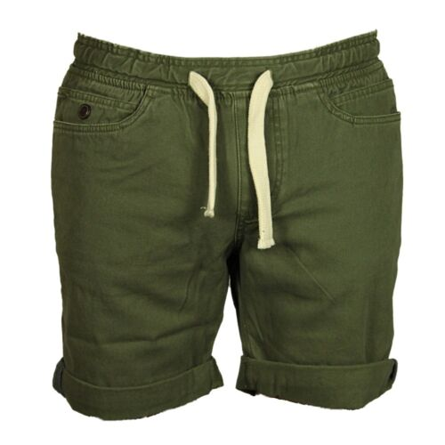 MENS BRAND NEW TURN-UP SHORTS BELL FIELD IN NAVY /& KHAKI COLOUR SIZES 30 TO 36