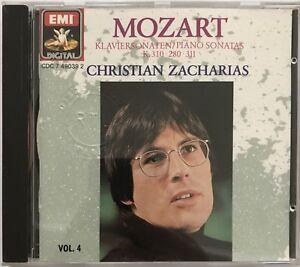 CHRISTIAN-ZACHARIAS-MOZART-KLAVIERSONATEN-SONATAS-CD-ALBUM