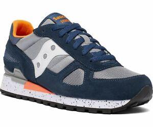 Saucony Originals Shadow, Sneakers stringate Uomo Blue/Grey/Orange S2108-772
