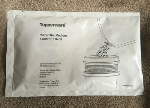 Granulat 12 x Wasserfiltergranulat S714 Tupperware