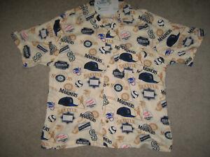 Hawaiian Mariners Seattle Large Classic Tradition Shirt Sz SpwBAq50w
