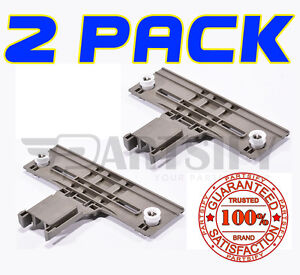 2 Pack W10712394 Dishwasher Upper Top Rack Adjuster For
