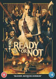 Ready-or-Not-2019-DVD-Samara-Weaving-Adam-Brody-Mark-O-039-Brien