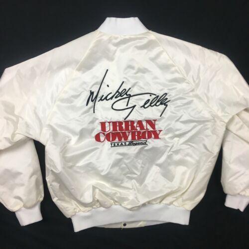 Mickey Gilley VTG Westark Urban Cowboy Satin Jack… - image 1