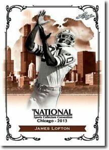 JAMES-LOFTON-2013-LEAF-NATIONAL-EXCLUSIVE-COLLECTORS-PROMO-CARD