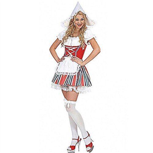 Mesdames néerlandais Girl Costume Small UK 8-10 Pour TV Dessin Animé /& Film Fancy Dress 810