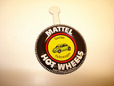 Volkswagen Mattel Hot Wheels Redline metal badge pin button 1967 hong kong