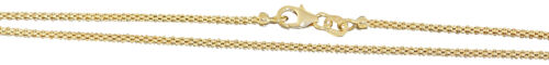 55 50 45 Halskette 60 cm Goldkette 585 Himbeerkette Kette Gold 14 Kt