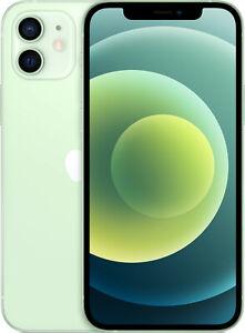 "Apple iPhone 12 64GB Green 5G 6,1"" 12MP IOS Smartphone MGJ93ZD/A A2403 NEU"