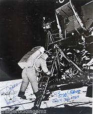 Neil Armstrong Buzz Aldrin Apollo 11 Signed Photo Autograph NOVA SPACE Authentic