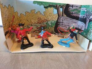 Nardi Box Fabulous Adventures Soldatini Swoppet Far-west Western Cowboys Facile à RéParer