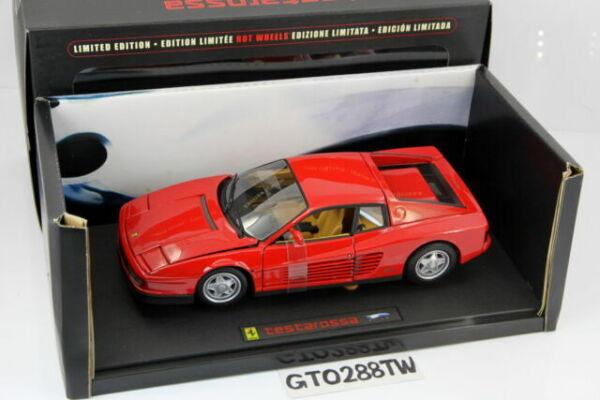 1 18 Hot Wheels Elite Ferrari Testarossa Red J2927 Günstig Kaufen Ebay