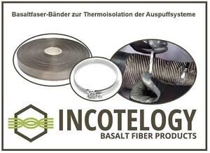 50m-Basalt-Faser-Band-fiber-tape-3-cm-breit-width-Hitzeschutz-Endrohr-SALE