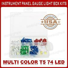 85x T5 5050-SMD 74 LED Instrument Cluster lamp Light DashBoard Bulb kit For Ford