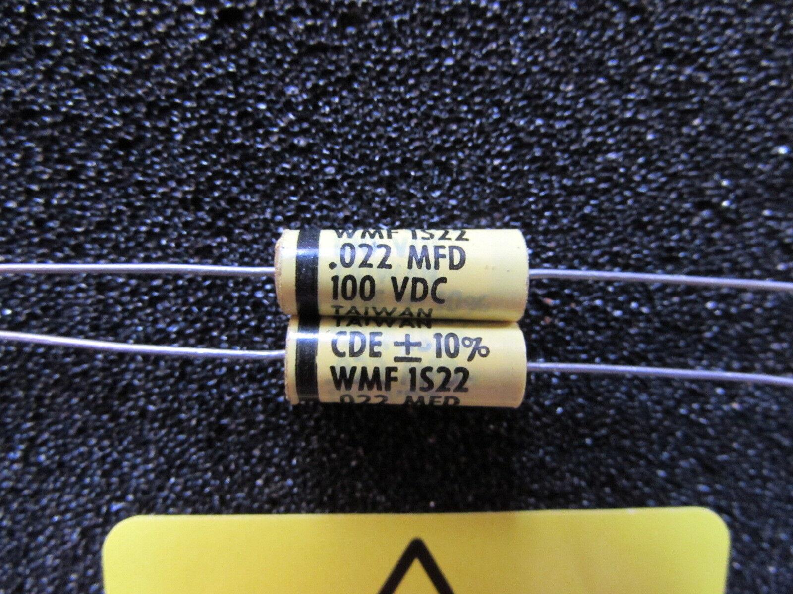 WPP 0.015uF 250V 5/% WPP2S15J Axial Film Capacitor CDE 2pcs-Cornell Dubilier