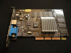 Carte-video-ABIT-AGP-GEFORCE-2-SILURO-T400-64MB