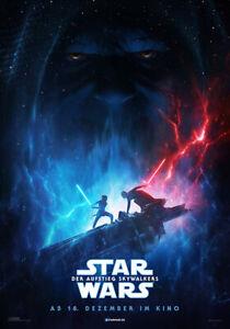 STAR WARS 9 DER AUFSTIEG SKYWALKERS  - Orig.Groß-Kino-Plakat A0 -T2 - gerollt