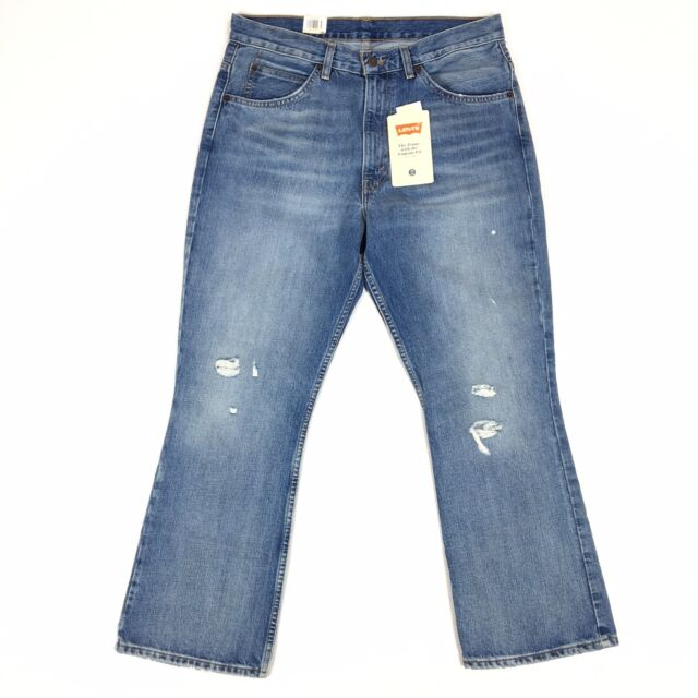 df683864 Size 31 Levi's 517 Cropped Bootcut Vintage Jeans High Rise Orange ...