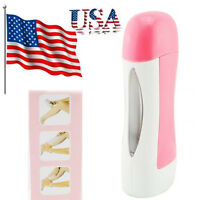 By Usa Depilatory Roll Wax Heater Roller Waxing Cartridge Hair Removal Warmer