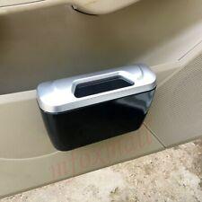 Car Inside Accessories Door Rubbish Garbage Waste Trash Dustbin Case Can Holder