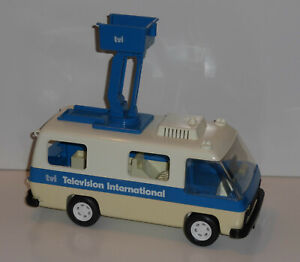 Playmobil-3530-Ubertragungswagen-TVI-Auto-LKW-U-Wagen