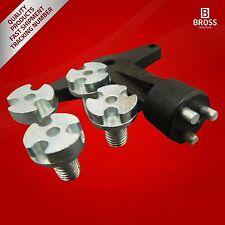 Aleación tornillos centro de la rueda con llave 90495549 para OPEL ASTRA CLÁSICO