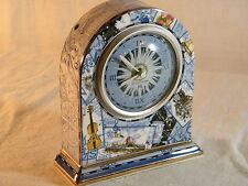 "A Wedgwood Bone China "" Millennium "" Mantle Clock just Stunning !!!!"