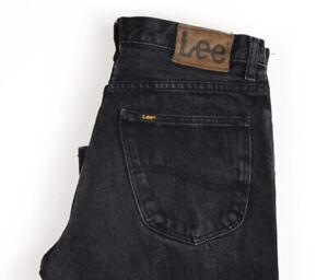 Lee Hommes Brooklyn Droit Jambe Slim Jean Taille W32 L32 APZ518